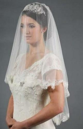 small Lace Veil,
