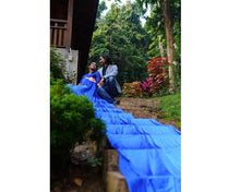 Load image into Gallery viewer, G300 (12), Royal Blue Long Trail Maternity Shoot Baby Shower Gown, Size - (XS-30 to XXL-44)