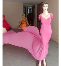 Load image into Gallery viewer, G256 Baby Pink Twin Trail Gown, Size (XS-30 to XXL-44)