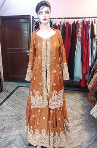 L81, Orange Dress Size (XS-30 to XL-40)
