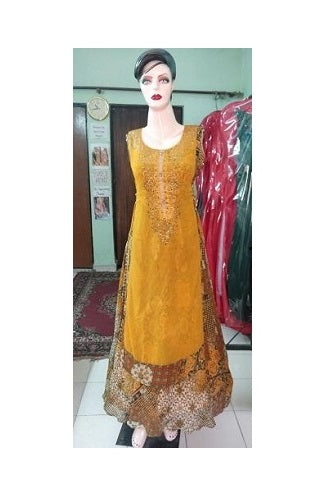 L57, Orange Sharara, Size (XS-30 to L-38)