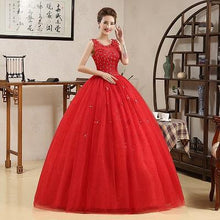 Load image into Gallery viewer, Red Ball Gown, Size (XS-30 to XL-40), G143