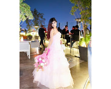 Load image into Gallery viewer, G228, Pink Tub Top Ball Gown, Size (XS-30 to XL-40)