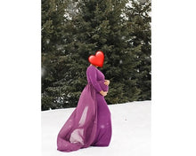 Load image into Gallery viewer, G41,(3) Purple Trail Gown, Size (XS-30 to XXL-44), Booking Status - Available