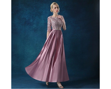 Load image into Gallery viewer, A-Line Half Sleeve Prom Evening Gown, Size (XS-30 to L-38), G82,