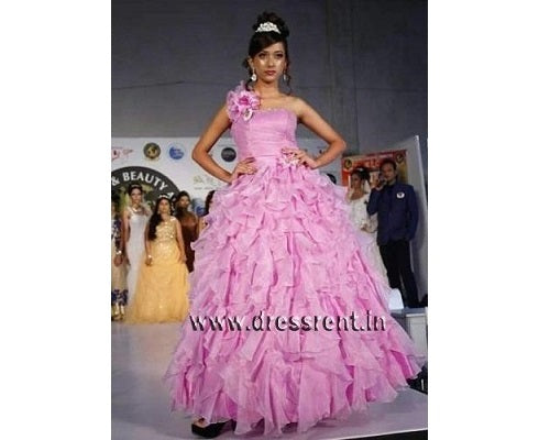 Pink Ball Gown, Size (XS-30 to L-38), G170