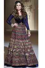 Load image into Gallery viewer, L2, Kareena Blue Rainbow Lehenga, Size (XS-30 toXL-40)