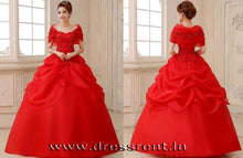 Load image into Gallery viewer, G142, Red Hood Trail Ball Gown, Size (XS-30 to L-36)