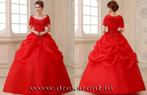 G142, Red Hood Trail Ball Gown, Size (XS-30 to L-36)
