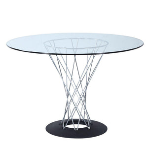 Jelka Eastern Dining Table, Glass