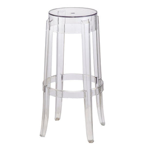 Slobodan Clear Bar Stool, Clear