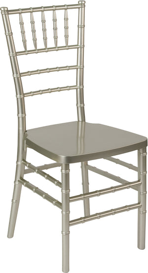 Syd Champagne Resin Stacking Chiavari Chair
