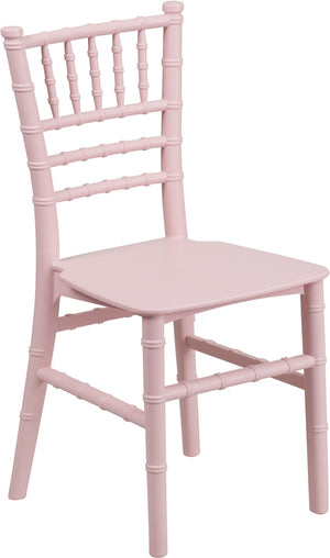 Donte Pink Resin Chiavari Chair