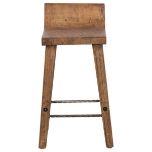 Reagan Low Back Stool, Counter Height by Kosas Home