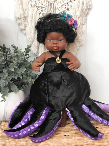 Ursula Inspired Outfit- Doll