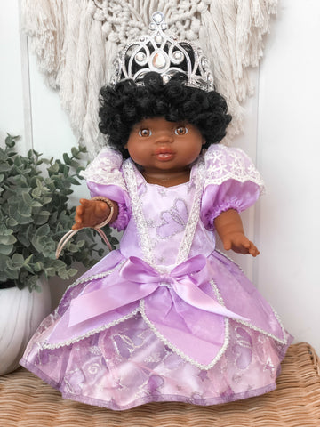 Sofia the First Inspired Dress- Doll