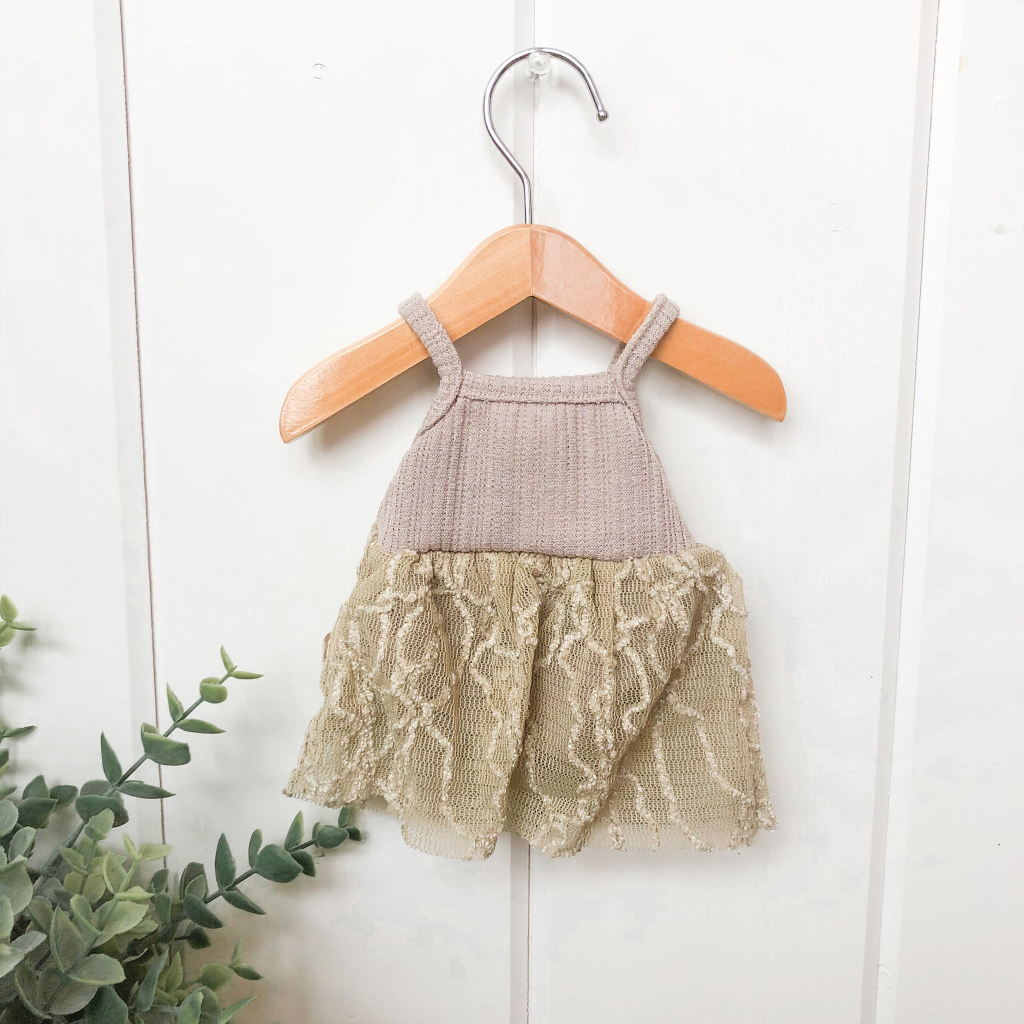 Beige Tutu Dress - DOLL