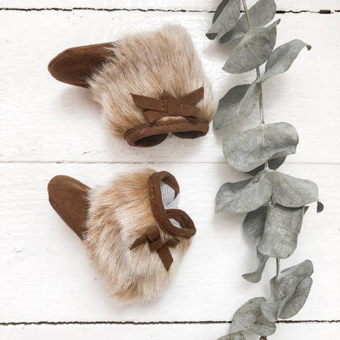 Fur Booties - Doll