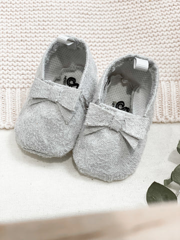 Grey Slippers- Doll