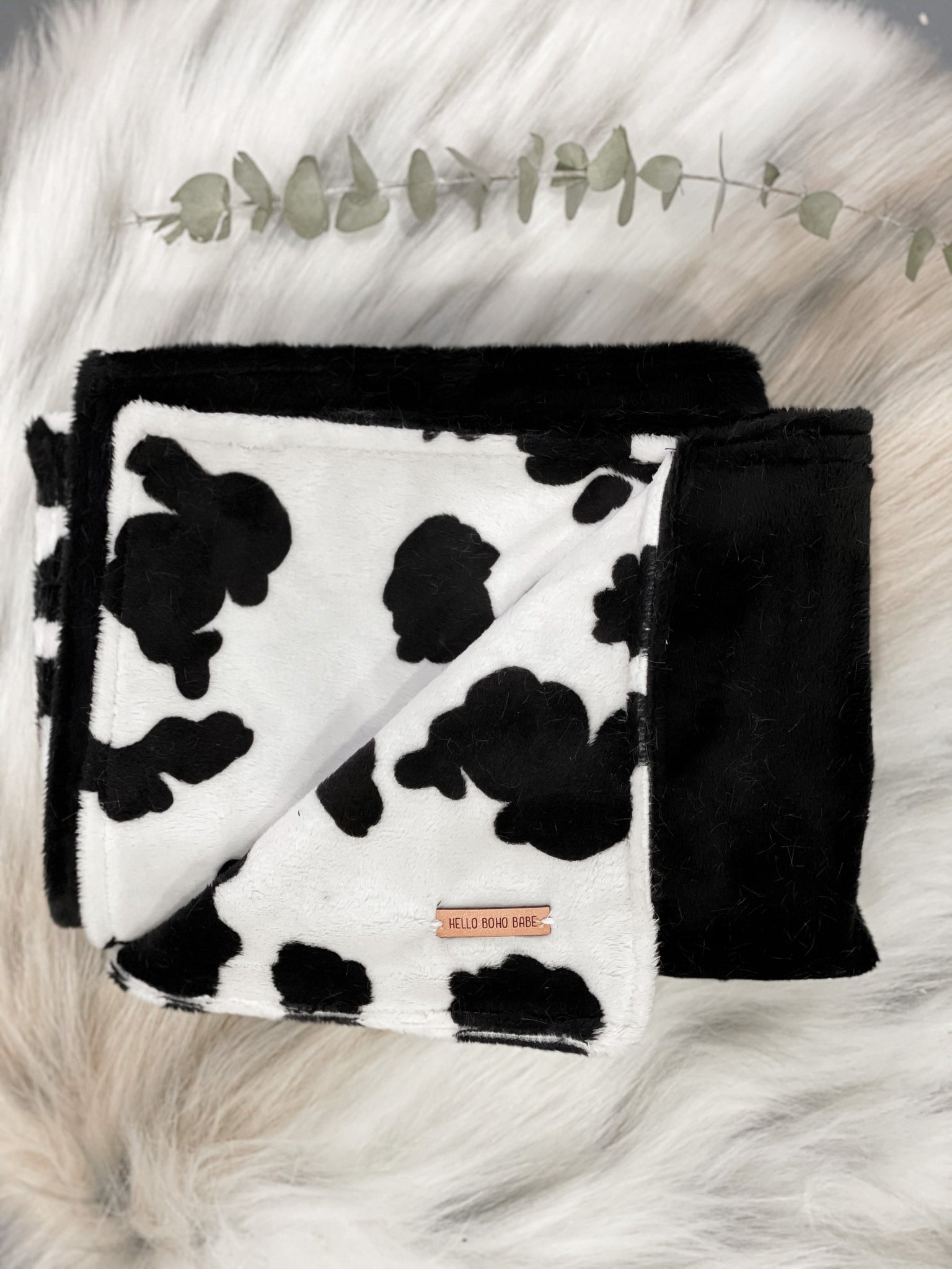 Cow Doll Blanket