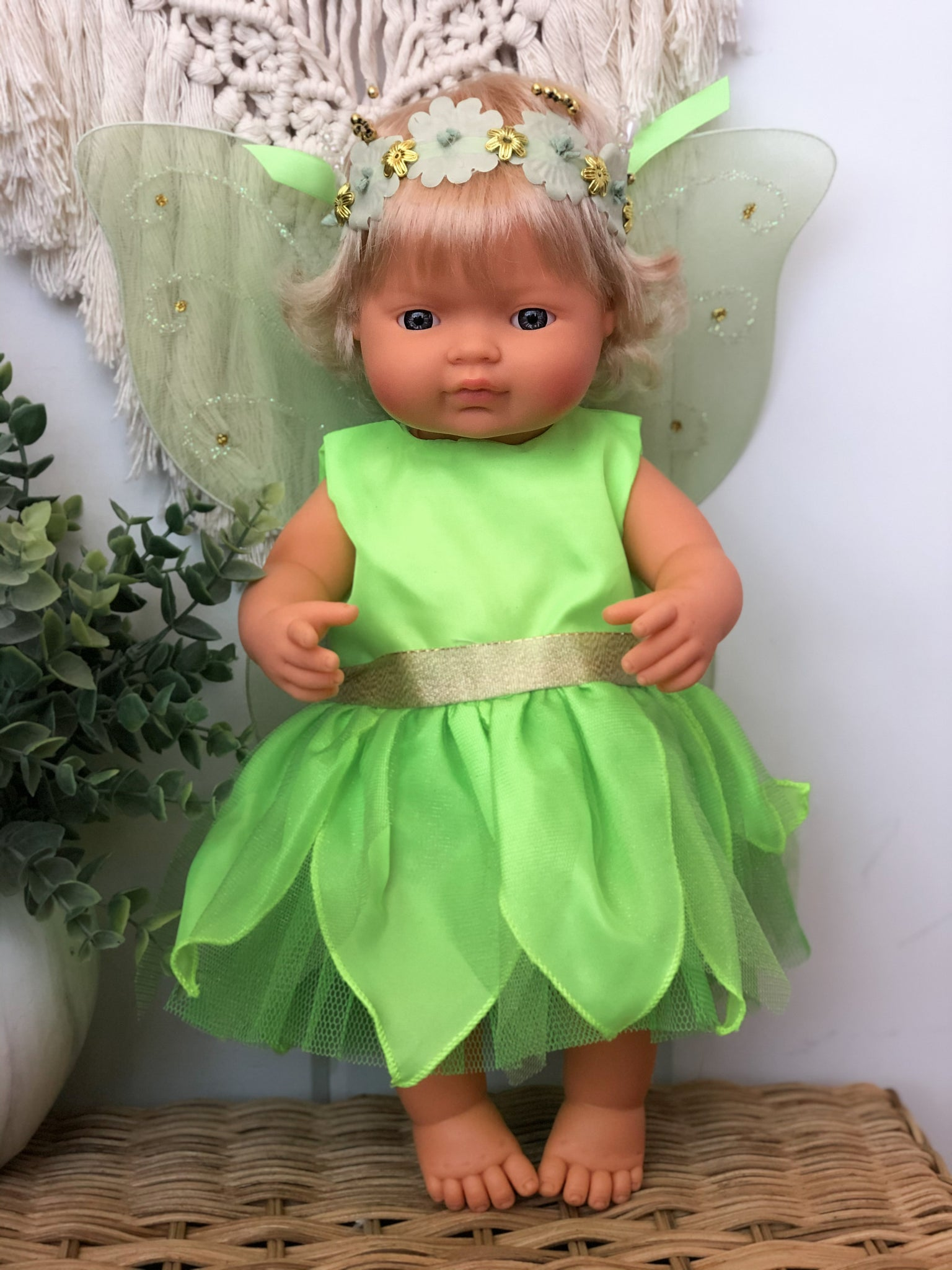 Tinkerbell Inspired Fairy Outfit- Doll
