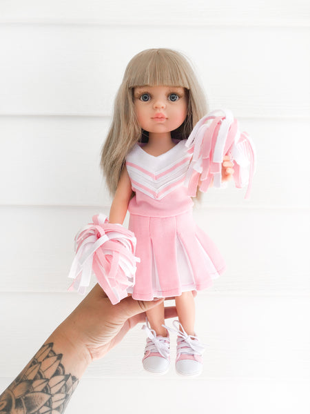 Light Pink Cheerleader Set - Las Amigas Doll