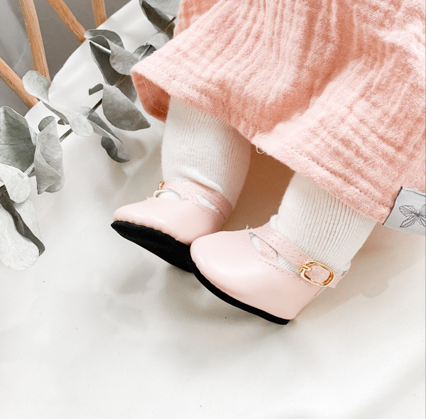 Pink Ballet Shoes - DOLL