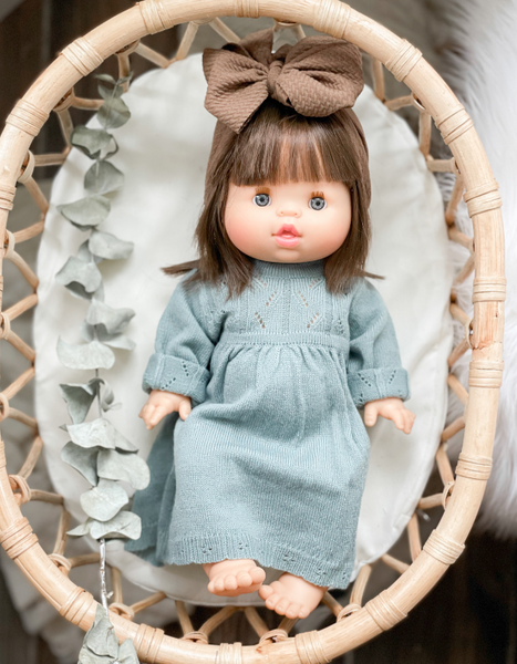 Sea-glass Knit Dress - DOLL