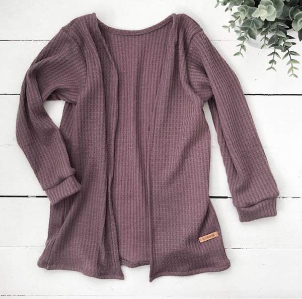 Cardigan/Sweater- Purple Mist