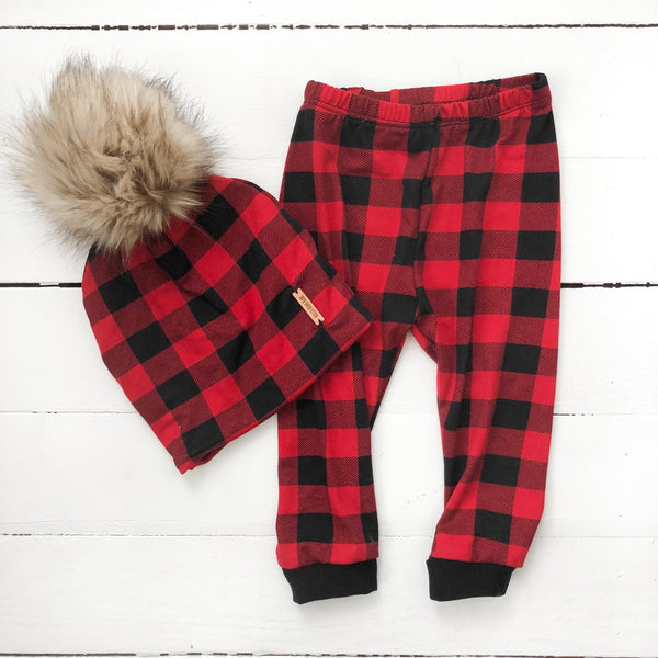 Beanie - Buffalo Plaid