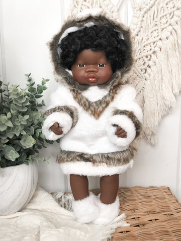 Furry Poncho - Doll