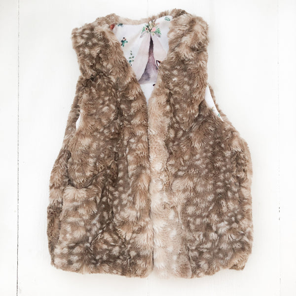 Fur Vest - Willow