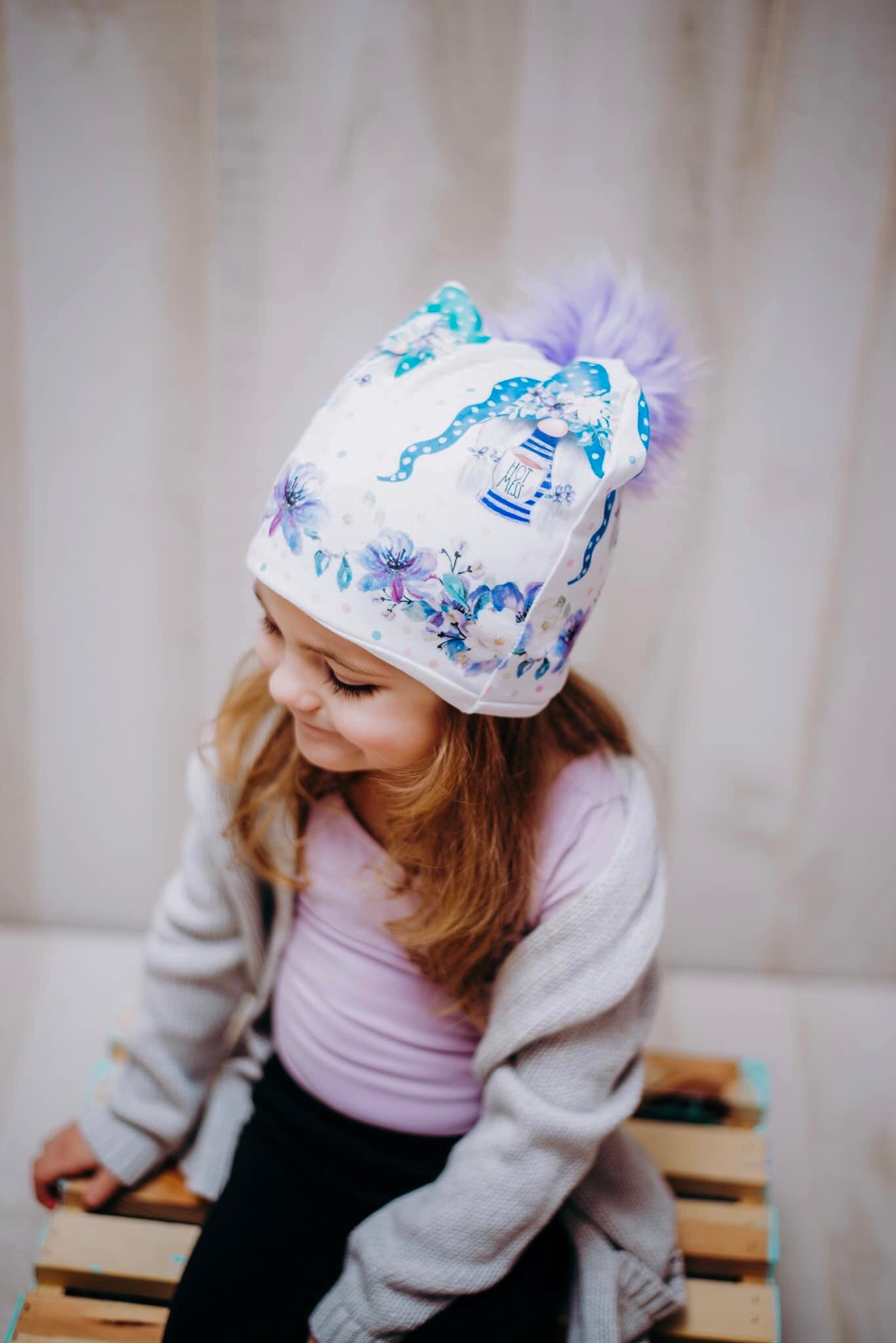 Girl Power Gnome Beanie