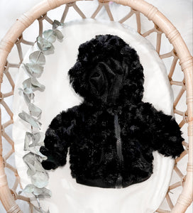 Black Furry Jacket - DOLL