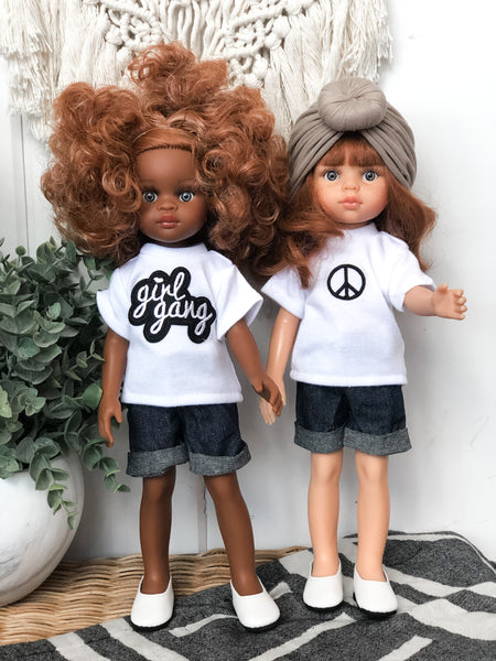 Girl Gang Tee - Las Amigas Doll
