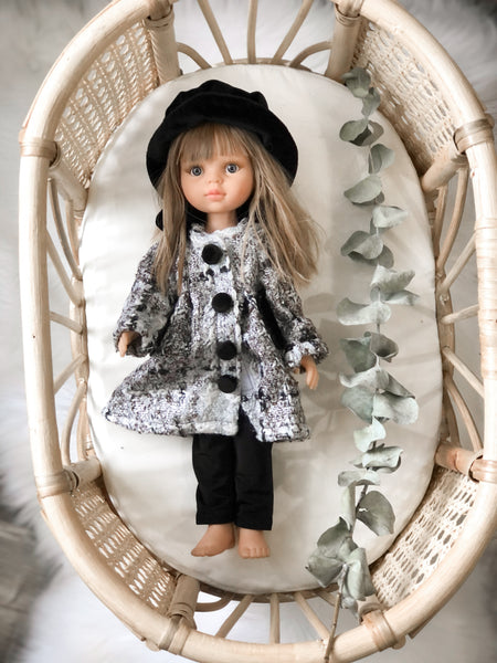Coat + Hat Set- LAS AMIGAS