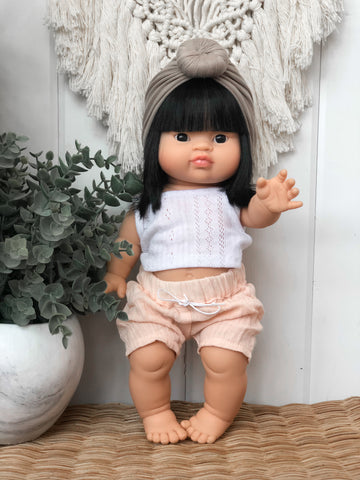 Rose Gauze Shorts - Doll