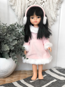 Winter Dress - Las Amigas Doll