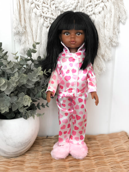 Pink Slippers- Las Amigas Doll
