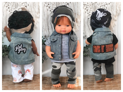 Denim Vest - Doll