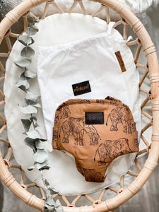 Boho Elephant Doll Carrier - Doll