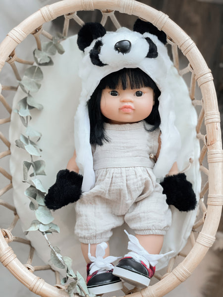 Panda Winter Hat - DOLL