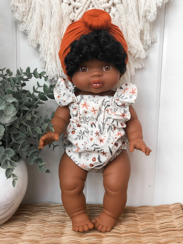 Wildflower Romper - Doll
