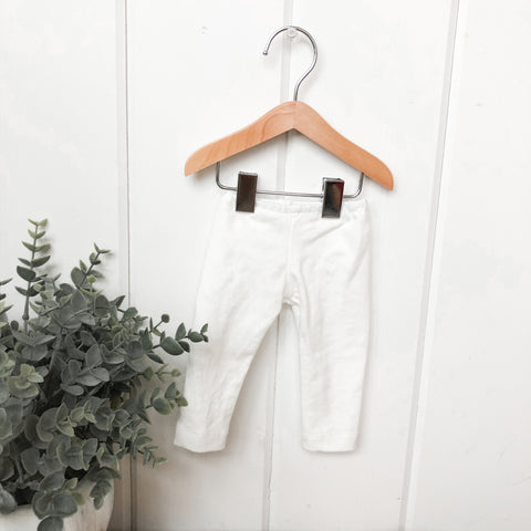 Solid White Pants - Doll