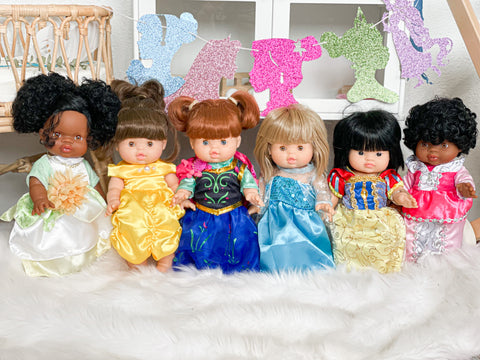 Princess Dresses- Doll