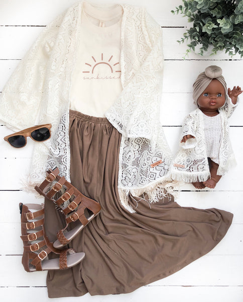 S'mores Maxi Skirt