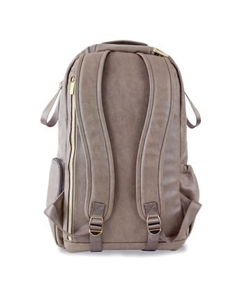 Taupe Boss Diaper Bag Backpack