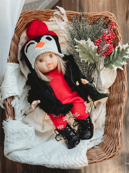 Penguin Winter Hat - DOLL