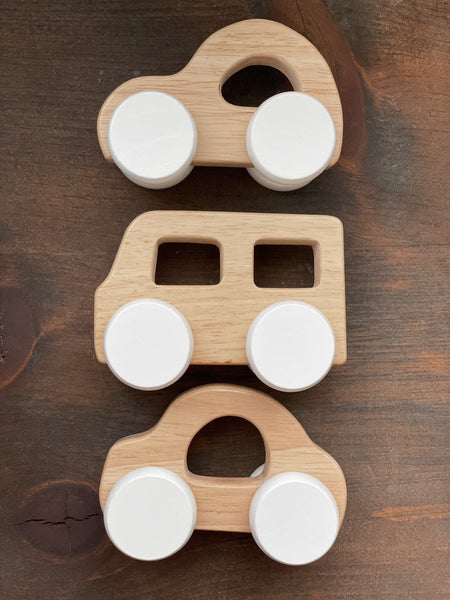 Wood Car Set