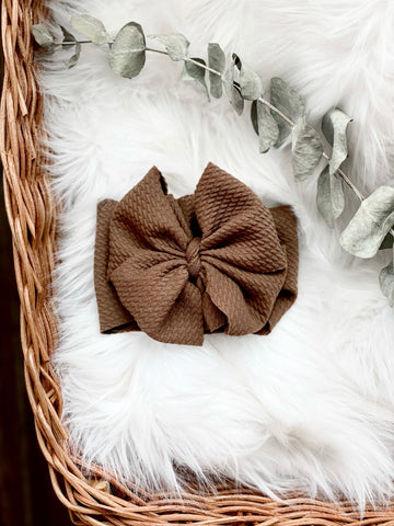 Chocolate Mousse Bow - DOLL